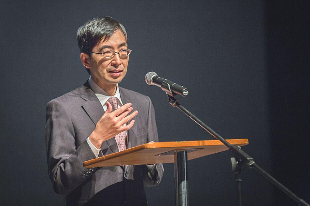 Вице-консул Японии во Владивостоке Хасэгава Томонори.
