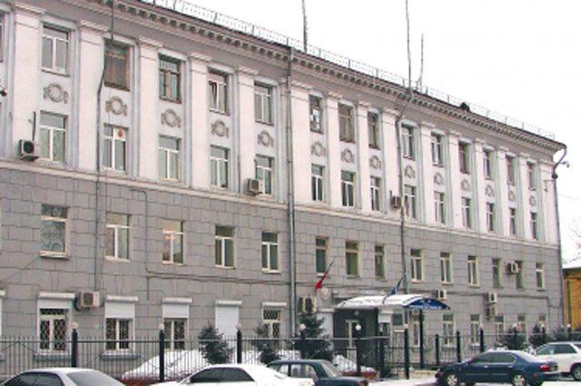 МВД Иркутска.