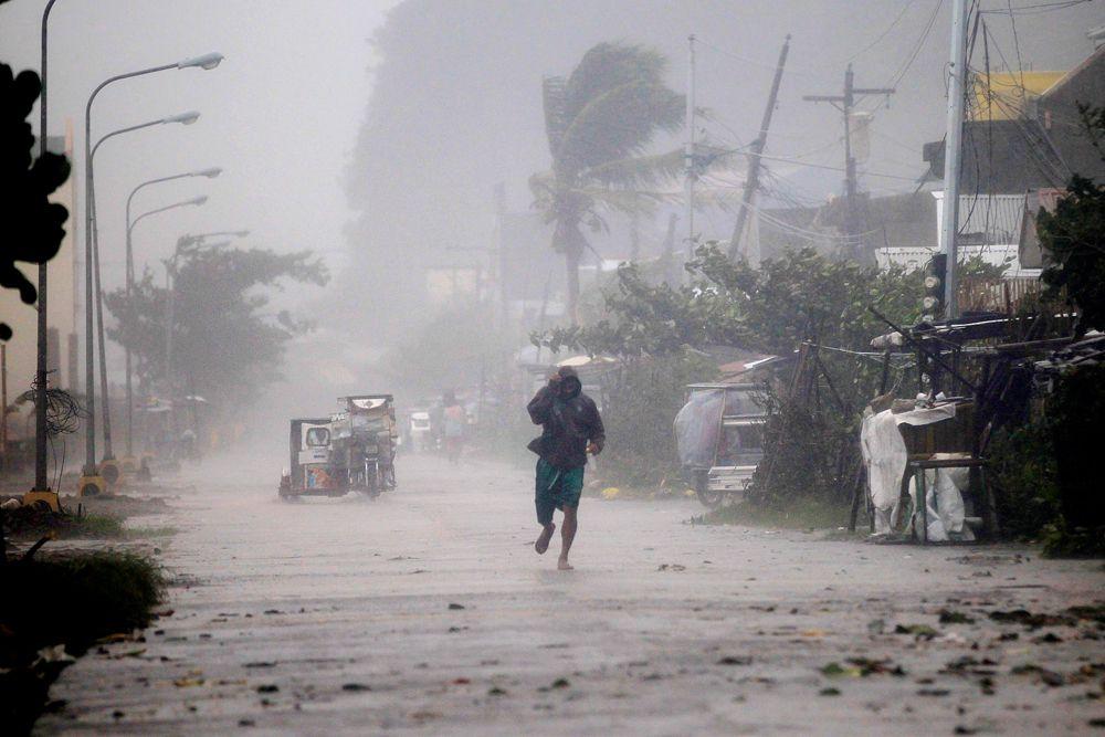 Ожидается, что «Хагупит» покинет зону ответственности филиппинских метеослужб только лишь во вторник или среду.