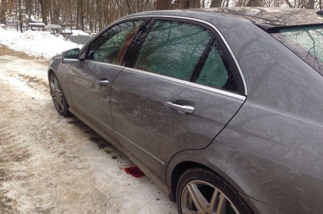 Автомобиль погибшего бизнесмена.