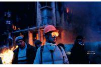 На Майдане в начале 2014 года
