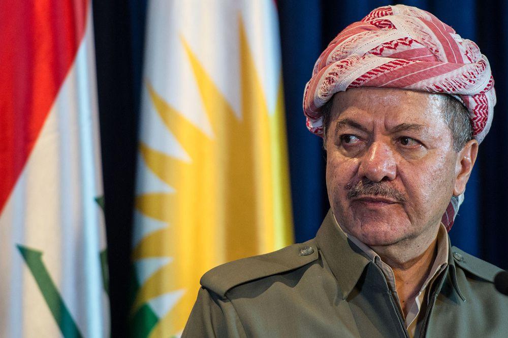Курдский политик Масуд Барзани.