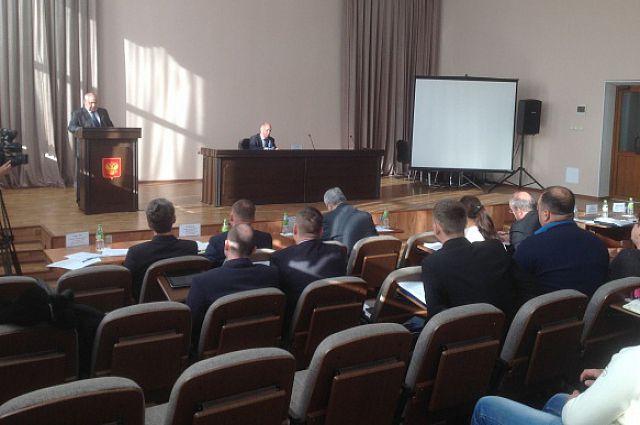 Заседание краевого штаба по подготовке и прохождению отопительного сезона.