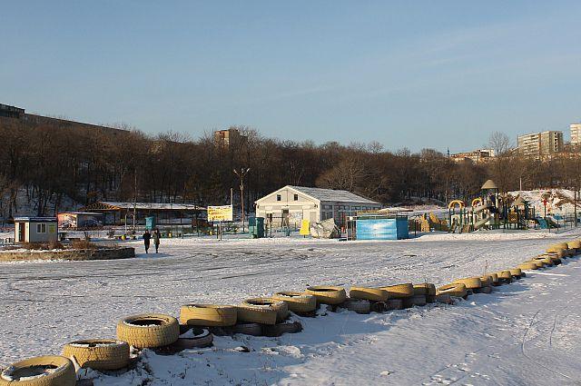Парк Минного городка.