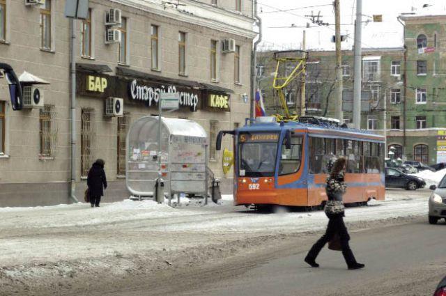 Из-за плохого технического состояния вагонов каждый день на линию выходят от 10 до 20 трамваев.