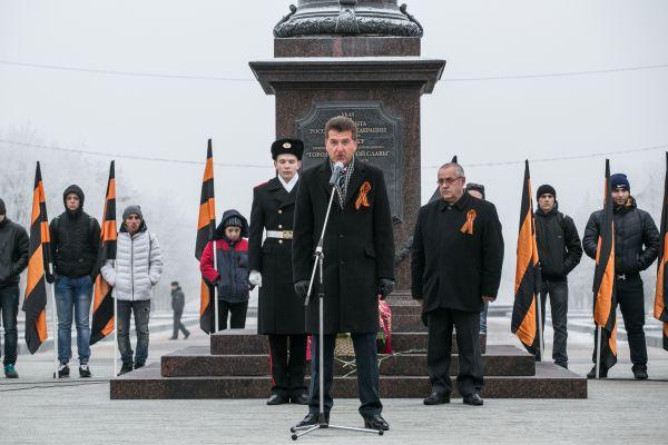 Глава Брянска Александр Хлиманков.