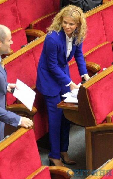 Татьяна Донец, Политическая партия «Народный фронт»