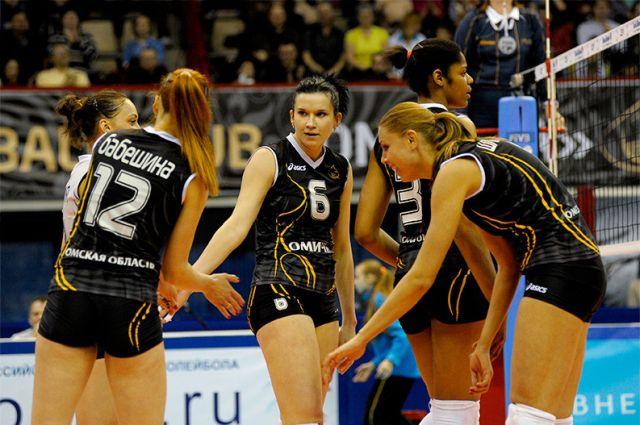 «Омичка» выступает в Лиге чемпионов-2015.