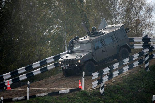 Военный автомобиль «Рысь» – совместная разработка итальянской автомобильной компании IVECO и российского КАМАЗа.
