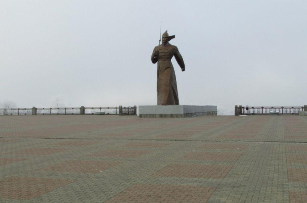 Памятник Солдату на Крепостной горе