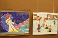 Работы на выставке «Галерея Снежной королевы».