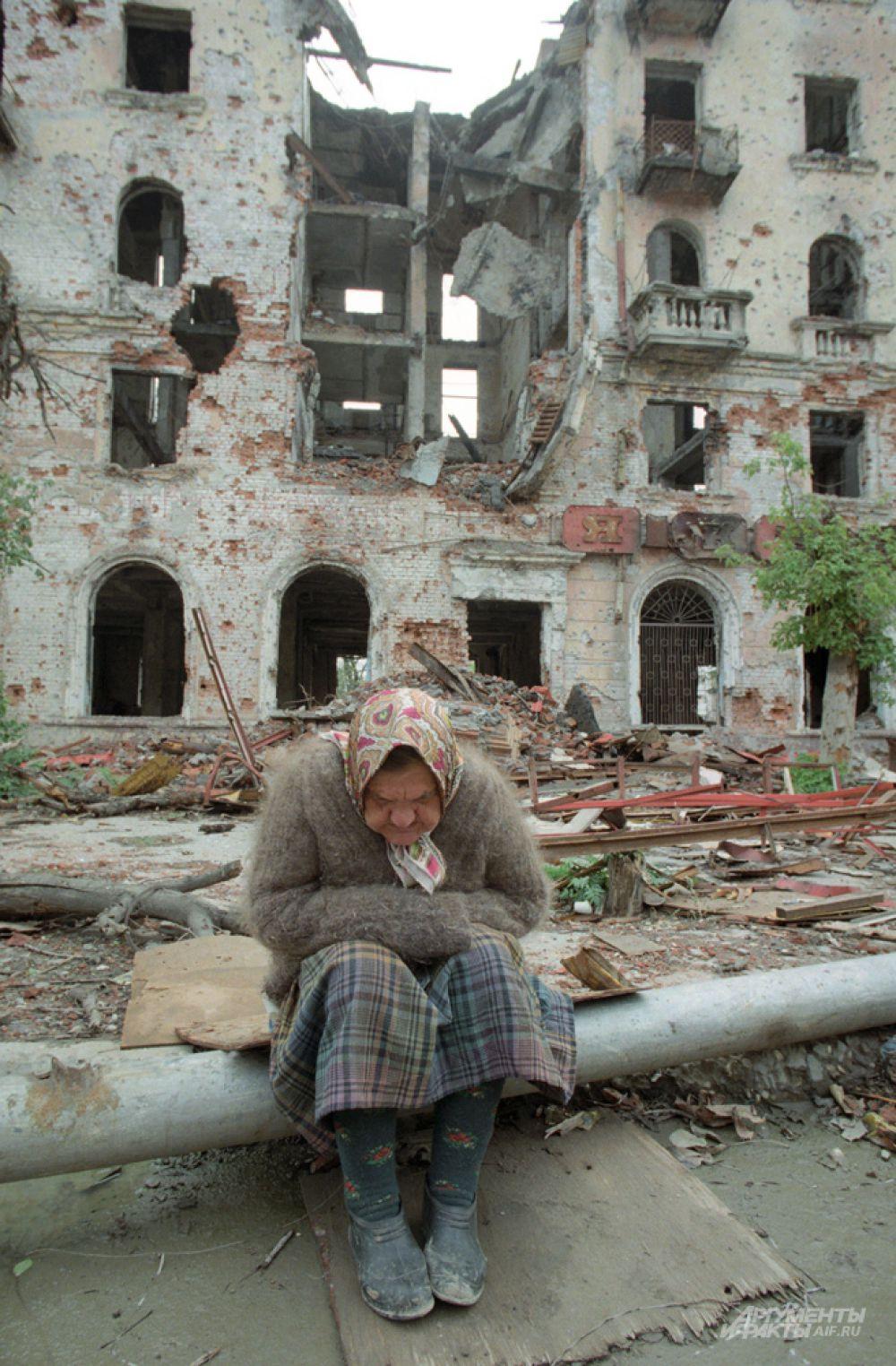 Первая чеченская кампания длилась 630 дней.