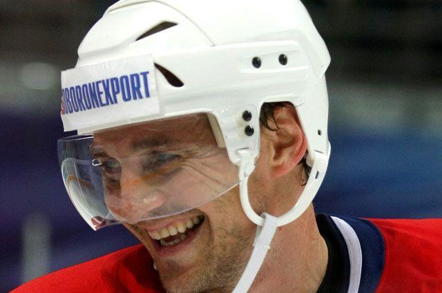 Российский хоккеист Сергей Фёдоров.