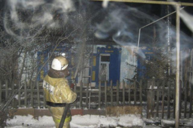 Пожар в частном доме унес жизни двух пенсионеров.