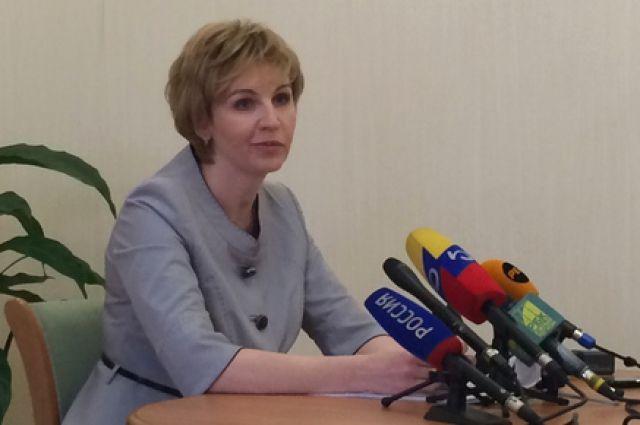 Министр образования РО Лариса Балина