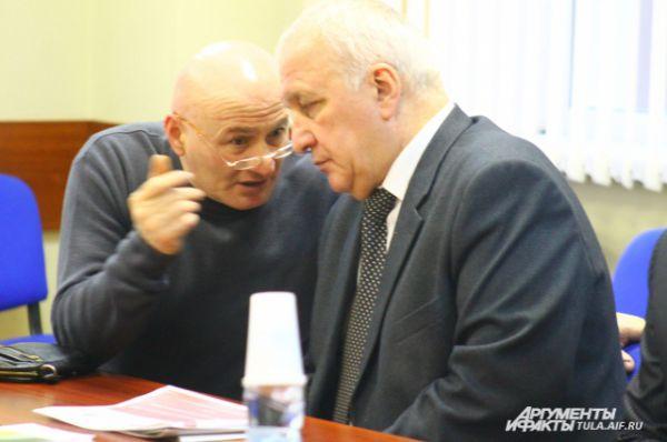 Директор АНО «Региональный центр субконтрактации» Сергей Штарков не только выступил с интересными предложениями, но и внимательно слушал коллег.