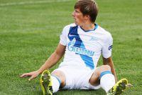 Игрок ФК «Зенит» Андрей Аршавин в матче 8-го тура чемпионата России среди клубов Премьер-лиги.