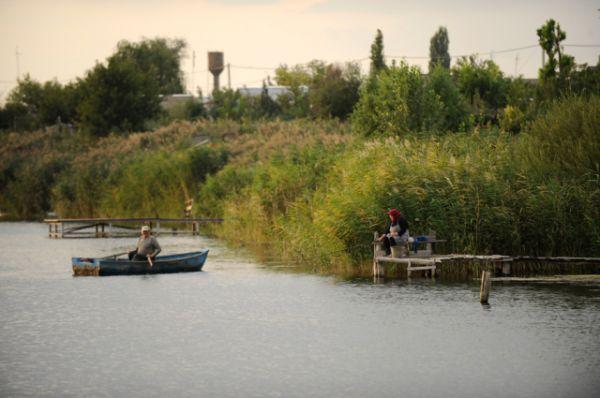 Еще одно увлечение Григория - рыбалка.