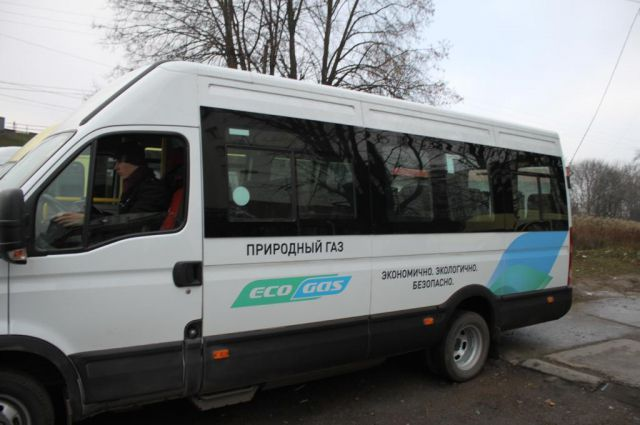 Микроавтобус «Ивеко», который использует экологичный природный газ в качестве моторного топлива, собрали в Нижнем Новгороде.