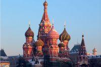 Собор Василия Блаженного на Красной площади.
