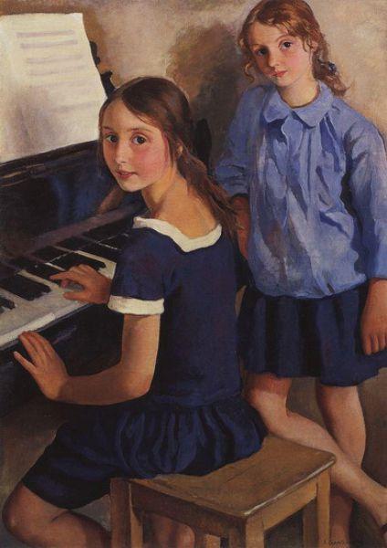 В начале сентября 1924 года Серебрякова уехала в Париж с двумя детьми Сашей и Катей, которые увлекались живописью. Маму с Таней, которая увлекалась балетом и Женей, который решил стать архитектором, она оставила в Ленинграде, надеясь заработать в Париже и вернуться к ним.