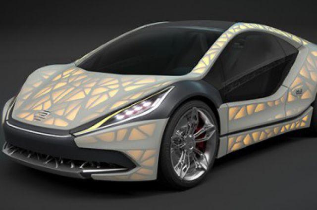 Прототип спорткара