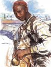 В 1928 и 1930 Зинаида едет в Африку, посещает Марокко. Природа Африки поражает её, она рисует Атласские горы, арабских женщин, африканцев в ярких тюрбанах. Она также рисует цикл картин, посвящённый рыбакам Бретани.