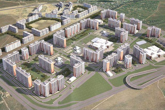 Проект будущего микрорайона «Салават Купере»