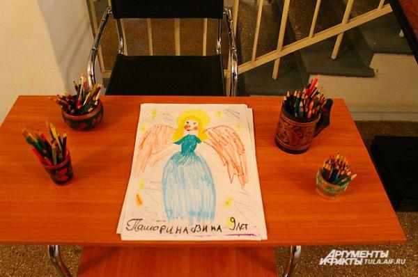 Все рисунки выполнены детьми разного возраста