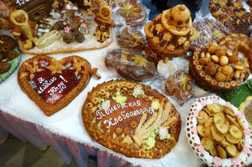 Стенд пекарни из Пойковского был одним из самых привлекательных.