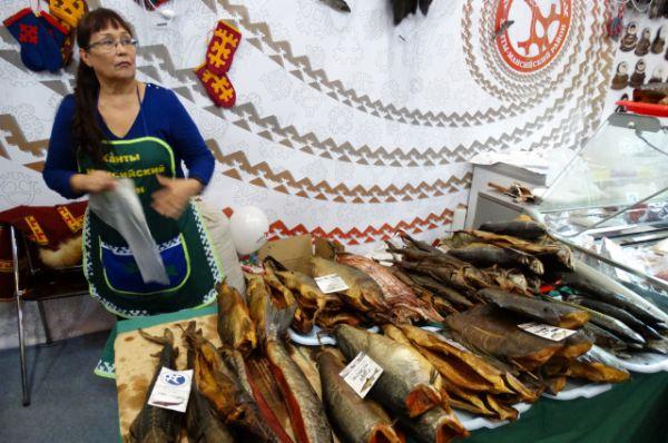 Рыба - один из самых ходовых югорских товаров.