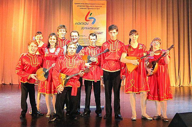 Оркестр русских народных инструментов «Калинка».