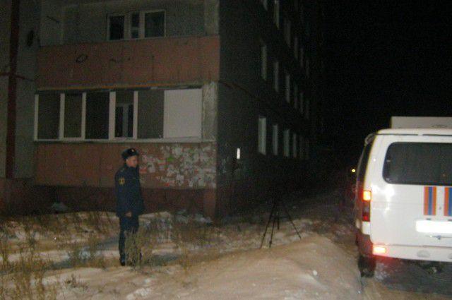 Взрыв произошел в жилом доме по ул. Коммунальная.