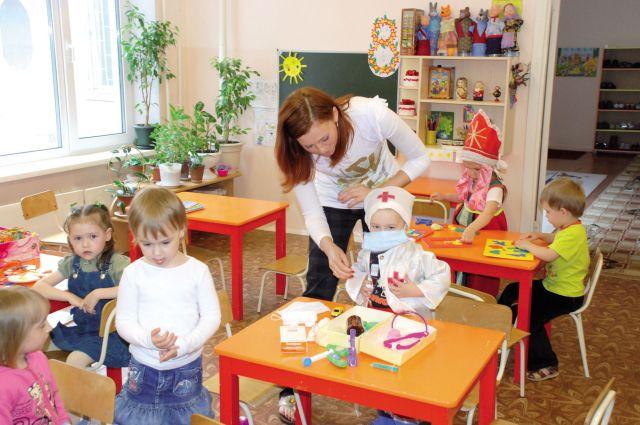 Новые детские сады появятся в Омске.