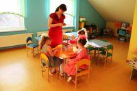 Детский сад в поселке Холмогоровка ничем не отличается от городского.
