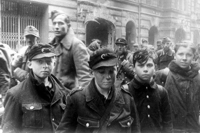 Вторая мировая война, дети