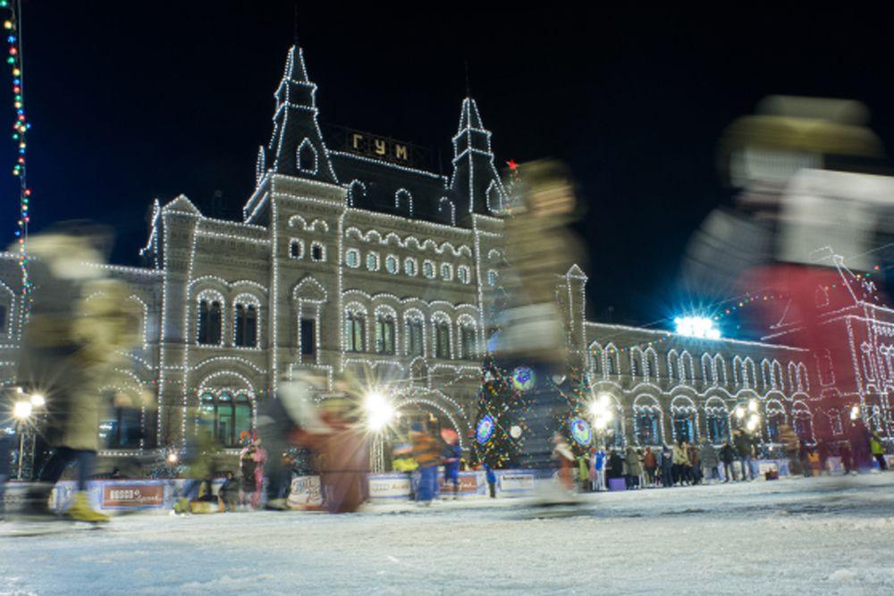 ГУМ Каток на Красной площади.