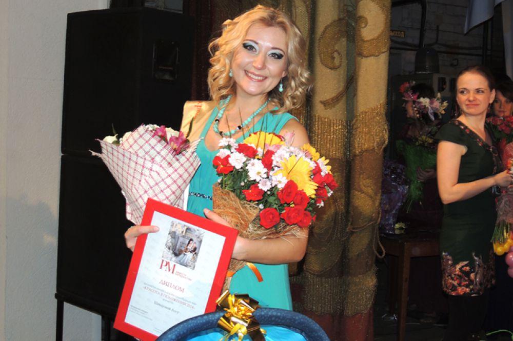 Победительница конкурса Алсу Шаварова.