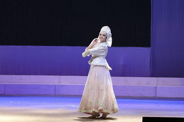 Творческий номер Евгении Буравилиной из Орловской области