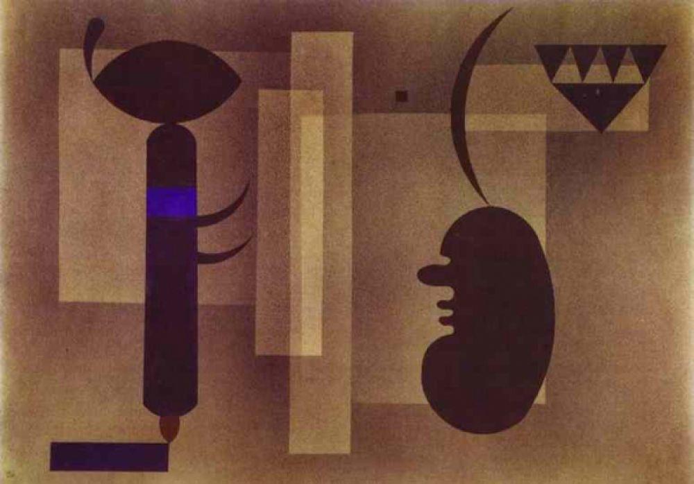 С приходом к власти фашистов работы Кандинского были отнесены к «дегенеративному искусству», в связи с чем его картины перестают выставляться. Художник переезжает во Францию, где включается в местные художественные течения.