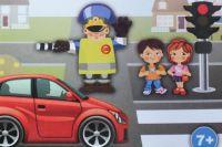 Мультики помогут детям в игровой форме изучить ПДД.