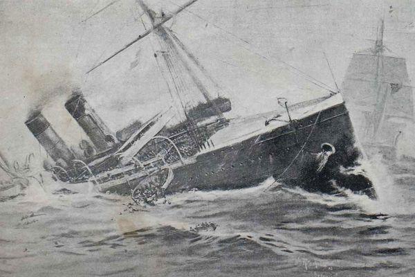 В 1898 году близ острова Сейбл английский барк «Кромантишир» (Cromartyshire ) потопил французский лайнер «Ла Бургонь» (La Bourgogne). 561 человек погиб.