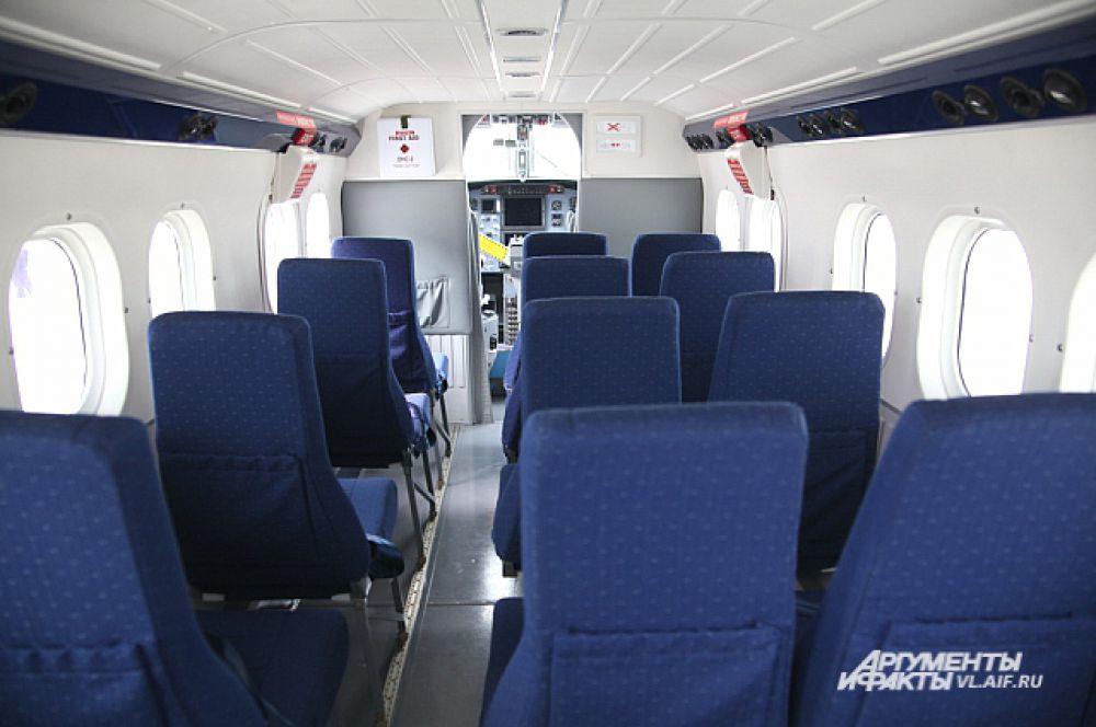В салоне пассажирам будет уютно.