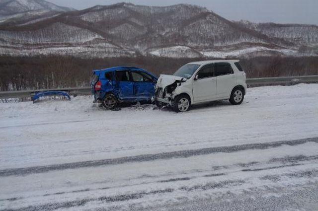 ДТП на федеральной трассе в Приморье