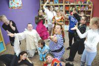 Работать пришлось несколько месяцев, прежде чем дети были готовы выйти на сцену.