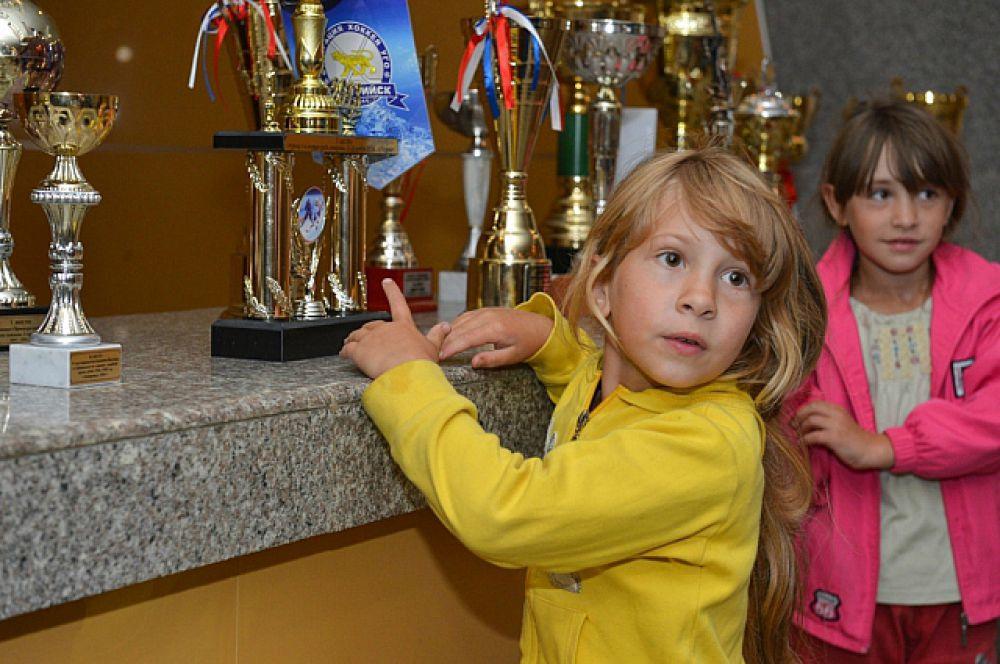 Дети начнут путь к рекордам на универсальных спортплощадках.