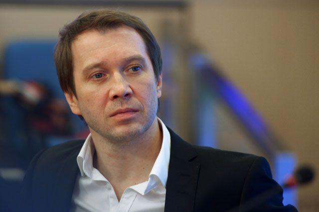 Художественный руководитель Театра Наций, актер Евгений Миронов.