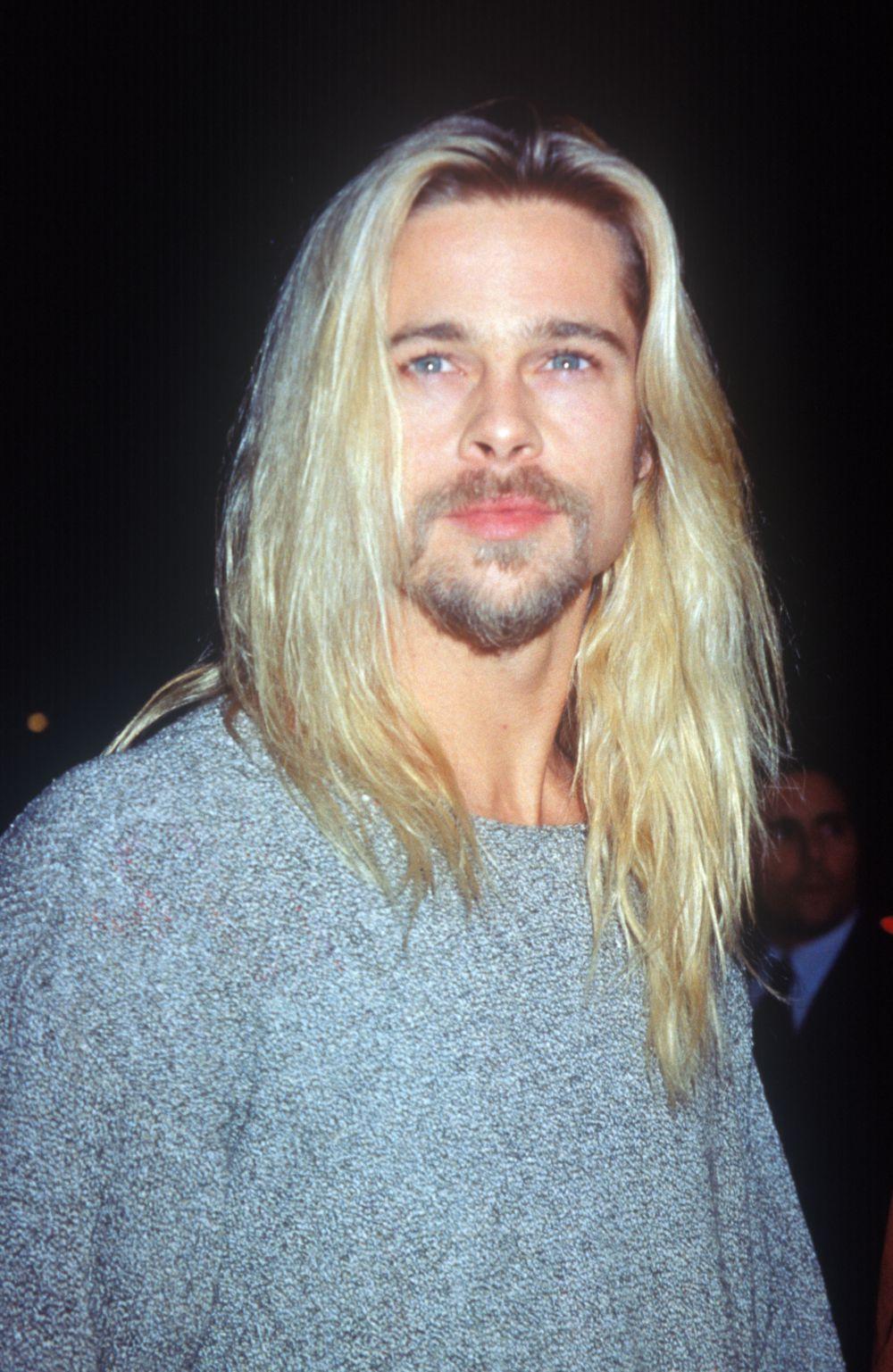 1994 год. Брэд Питт на премьере фильма «Легенды осени»
