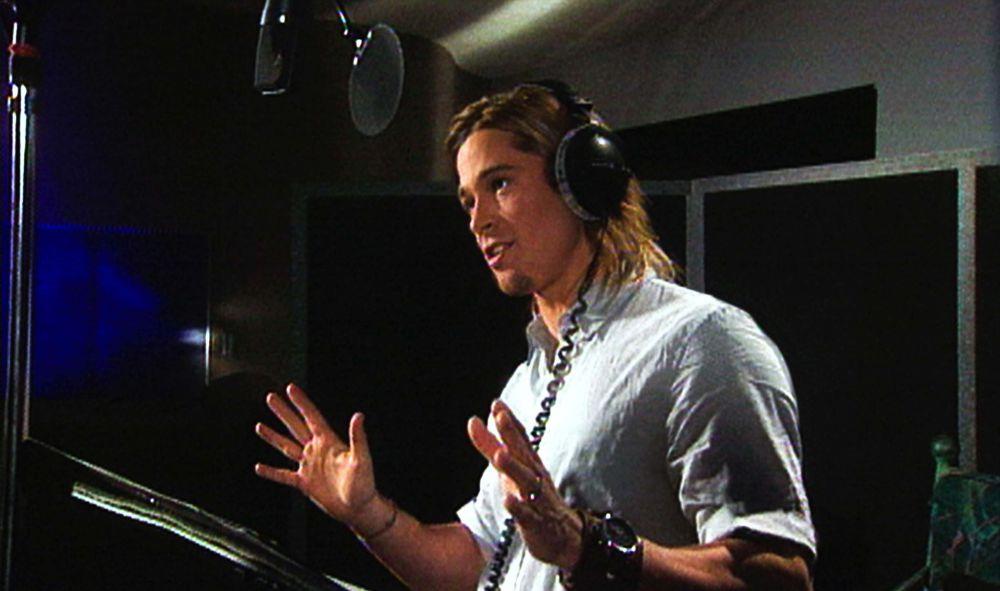 2003 год. Мало кто знает, что голосом Брэда Питта говорит Синдбад из мультфильма «Синдбад: Легенда семи морей»