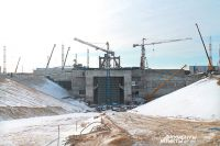 Возведение стартового комплекса всамом разгаре. Через год отсюда планируется запустить «Союз-2».